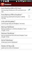 Screenshot of Expense Tracker