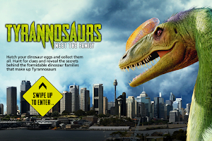 Screenshot of Tyrannosaurs