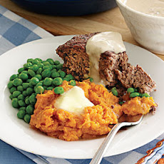 Beef-and-Mushroom Meatloaf