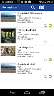 Portmeirion Walks - screenshot