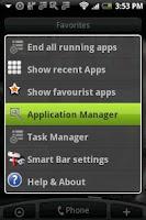 Screenshot of SmartBar