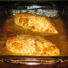 Golden Glazed Chicken