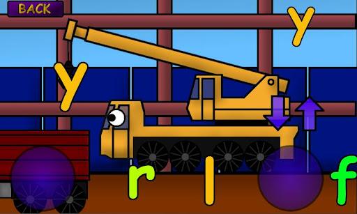 Kids Trucks: Alphabet Games - screenshot