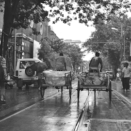 Moving... by Arup Chowdhury - City,  Street & Park  Street Scenes