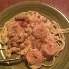 Creamy Shrimp and Scallop Shells