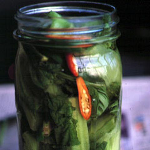 Pickled Mustard Greens