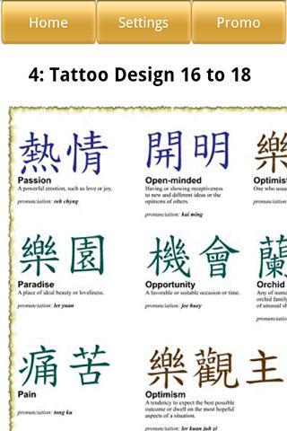 Chinese & Kanji Tattoo Designs 娛樂 App-癮科技App