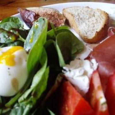 Parma Ham and Fig Spinach Salad