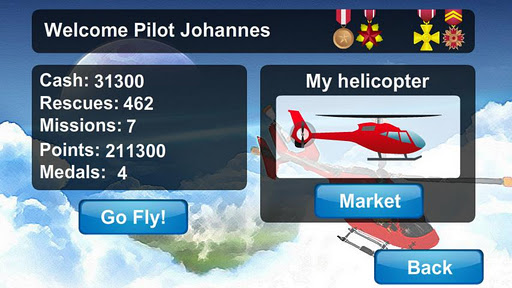 【免費休閒App】直升機空中救援建興-APP點子