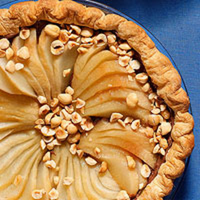 Black-Bottom Pear Pie