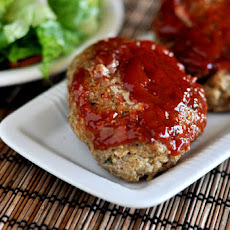 Glazed Mini Meatloaves