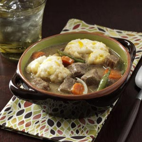 ... Stew With Orange, Thyme And Cheddar Dumplings Recipe — Dishmaps