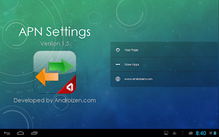 Screenshot of APN Settings