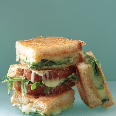 Parmesan-Crusted Grilled Cheese