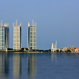 simply city view by Uul Setya - City,  Street & Park  Vistas
