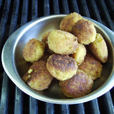 Minced Prawn Curry Balls