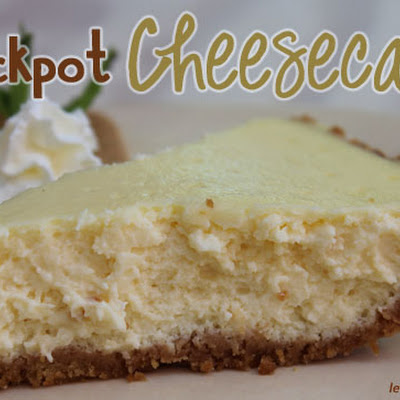 Crockpot Cheesecake