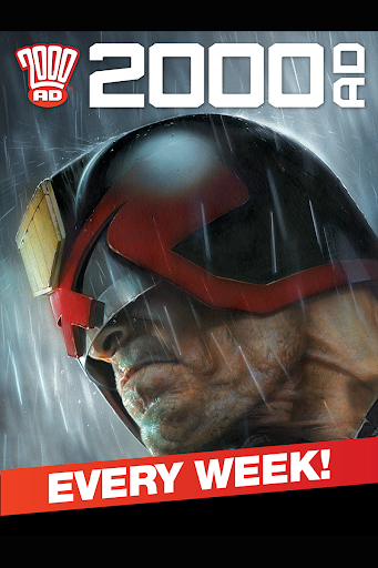 2000 AD Comics and Judge Dredd - screenshot