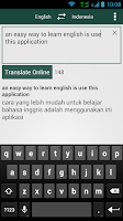Screenshot of Kamus Inggris - Indonesia