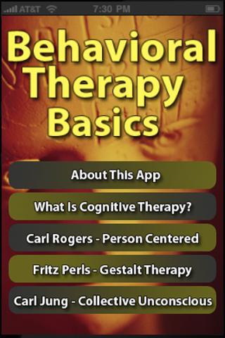 Behavioral Therapy Basics