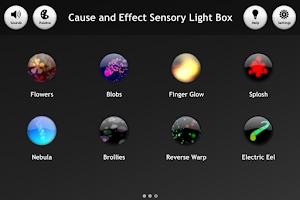 Screenshot of Cause & Effect  Light Box