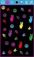 Screenshot of Peace Draw Free