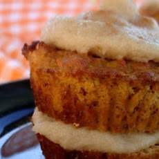 Easter Weekend: Double Decker Carrot Cake Cupcakes