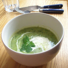 Courgette Soup With Basil