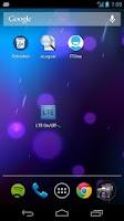 Screenshot of LTE Settings Quick Launch