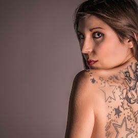 Medusa by Scott Martin - People Body Art/Tattoos ( award, tattoo, medusa,  )