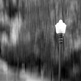 Bowen Island Lamp Post by Xavier Wiechers - Digital Art Things