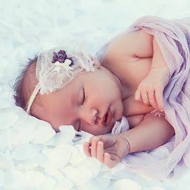 Hailey by Jenny Hammer - Babies & Children Babies ( girl, baby, cute, newborn )