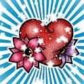 Stardust Heart theme 480x800 icon