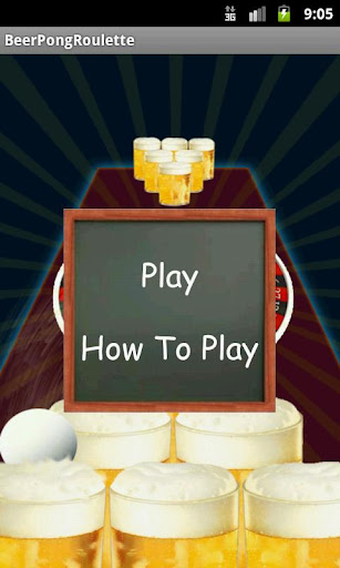Beer Pong Roulette