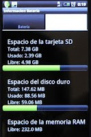 Screenshot of Nivel de Bateria
