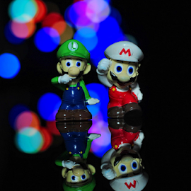 Mario & Luigi by Rendra Suryansyah Pakaya - Artistic Objects Toys ( toy, object )