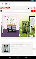 Screenshot of Weltbild.de eBook Lese-App