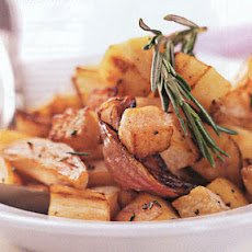 Sauteed Turnips and Parsnips with Rosemary