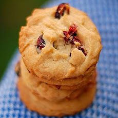 Cherry & Cream Cookies