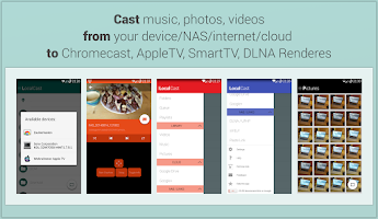 Screenshot of LocalCast (Media 2 Chromecast)