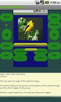 Screenshot of Bird Calls Help