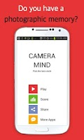 Screenshot of CAMERA MIND (Memory Test)