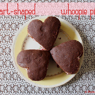 Heart-Shaped Whoopie Pies