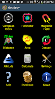 Screenshot of Geodesy Earth Tools