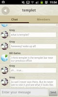 Screenshot of Chat Nearby