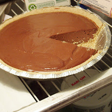 Moo-Less Chocolate Pie