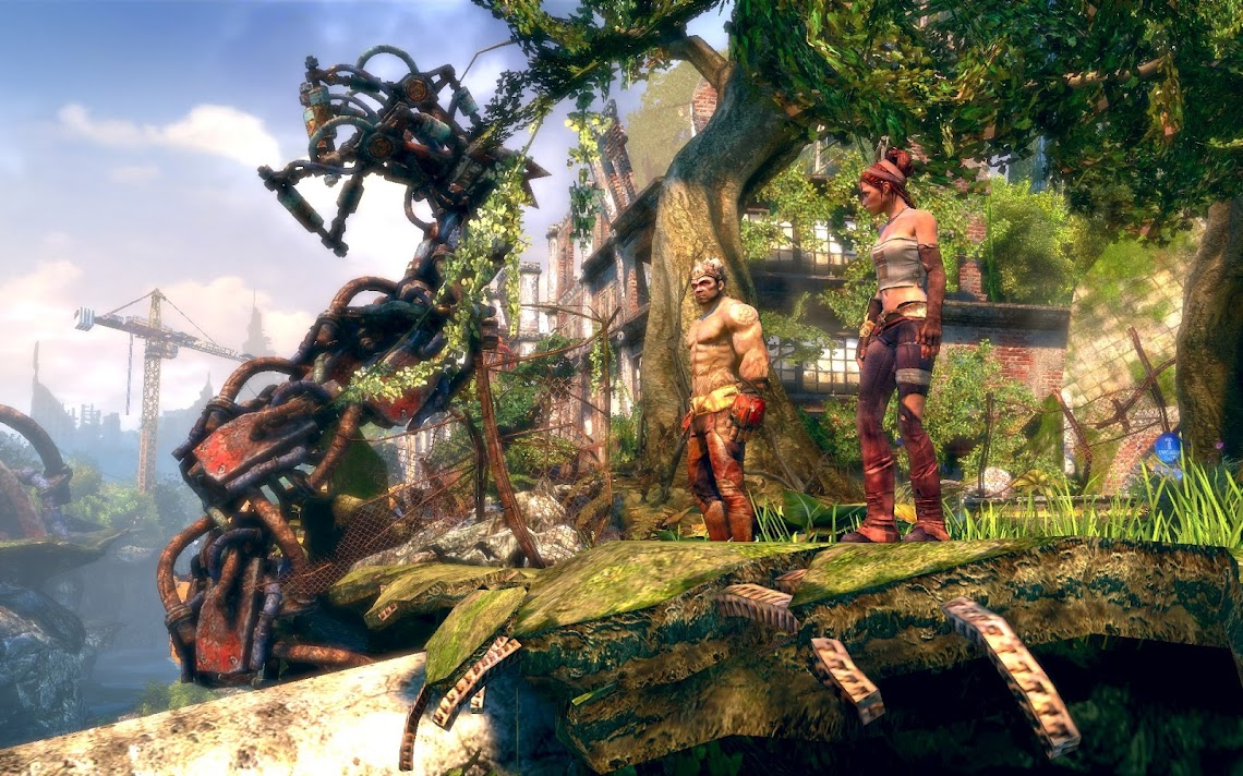 Enslaved: Odyssey To The West arrives on PC and PSN today