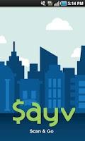 Screenshot of SAYV