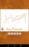 Screenshot of Digital Signature Creator