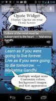 Screenshot of Gandhi Quotes